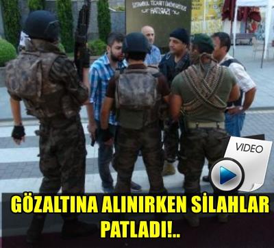 SÜTLÜCE'DE HAREKETLİ DAKİKALAR!.. REKTÖRÜN KORUMASI POLİSE ATEŞ AÇTI!