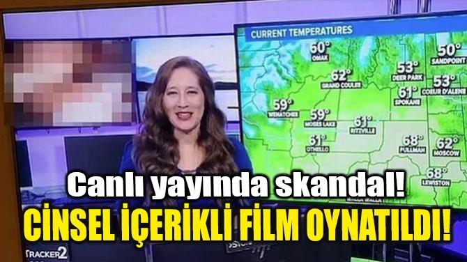 CANLI YAYINDA SKANDAL!