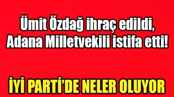 İYİ PARTİ'DE DEPREM! NELER OLUYOR?..
