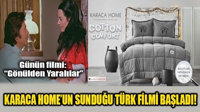 KARACA'NIN SUNDUĞU TÜRK FİLMİ BAŞLADI!