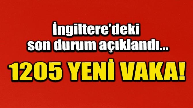 İNGİLTERE'DE SON 24 SAATTE CORONAVİRÜSTEN 55 ÖLÜM