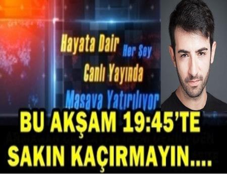 CANLI MASA, OYUNCU BAHADIR EFE'Yİ AĞIRLIYOR