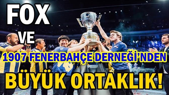 FOX VE 1907 FENERBAHÇE DERNEĞİ'NDEN BÜYÜK ORTAKLIK!