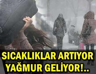 METEOROLOJİ'DEN ÖNEMLİ UYARI: GÜNLERCE YAĞACAK!..