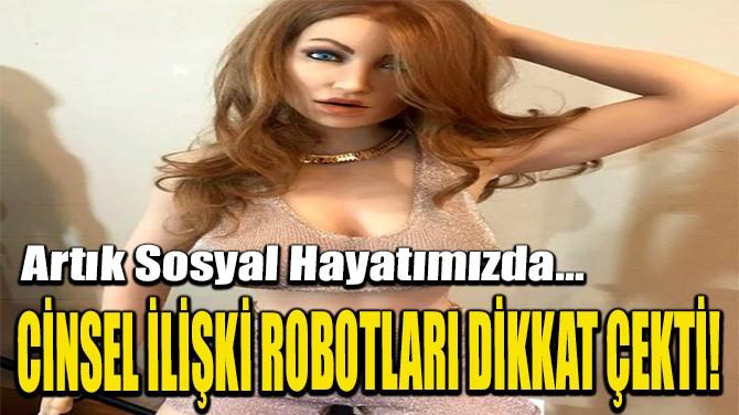 CİNSEL İLİŞKİ ROBOTLARI DİKKAT ÇEKTİ!