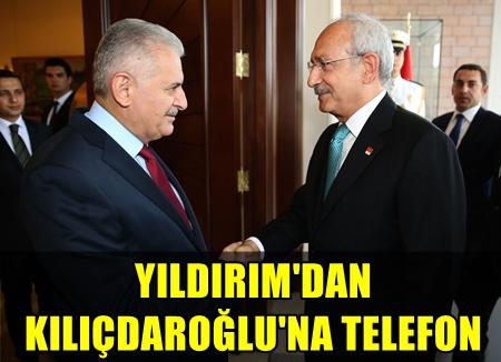 BAŞBAKAN BİNALİ YILDIRIM, CHP GENEL BAŞKANI KEMAL KILIÇDAROĞLU'NU TEBRİK ETTİ!..