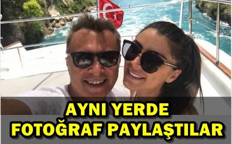 FİKRET ORMAN SEVGİLİSİYLE TATİLİN KEYFİNİ ÇIKARIYOR!..