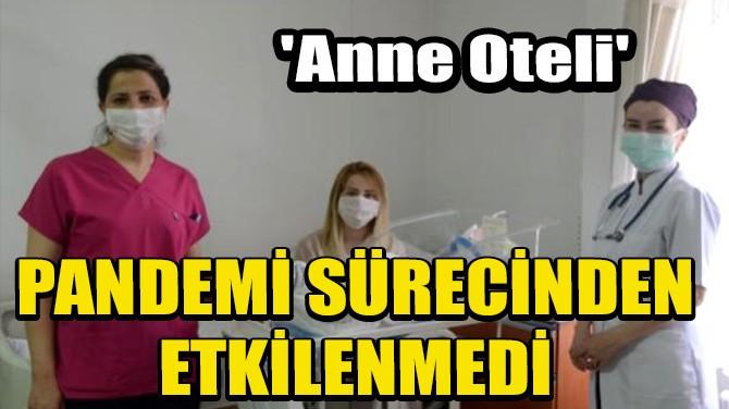'ANNE OTELİ' PANDEMİ SÜRECİNDEN ETKİLENMEDİ