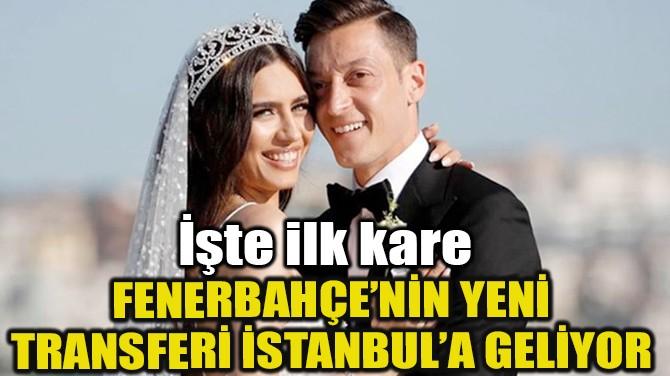 MESUT ÖZİL VE AMİNE GÜLŞE İSTANBUL'A GELİYOR