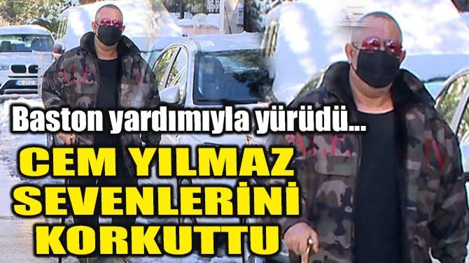 CEM YILMAZ SEVENLERİNİ KORKUTTU!
