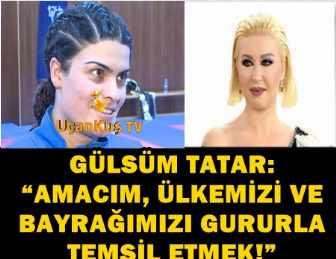 ŞENAY YANGEL, DÜNYA ŞAMPİYONU GÜLSÜM TATAR'I YALNIZ BIRAKMADI!