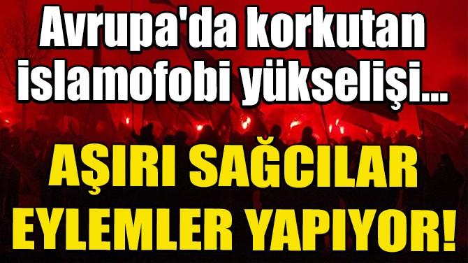 AVRUPA'DA KORKUTAN İSLAMOFOBİ YÜKSELİŞİ...