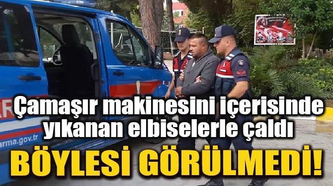 AZILI HIRSIZ BU DEFA JASAT'TAN KAÇAMADI