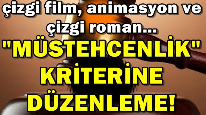 "YARGITAY'DAN"" MÜSTEHCENLİK SUÇ""U KRİTERİ!"