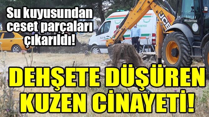 DEHŞETE DÜŞÜREN KUZEN CİNAYETİ!
